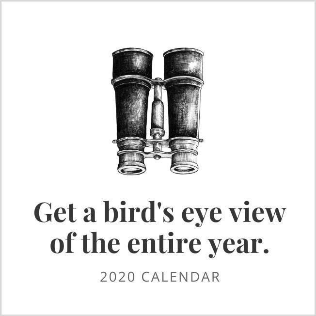 2020 Calendar Link